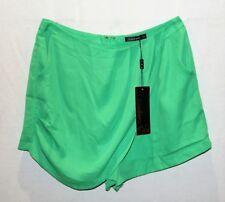 Sambara Brand Vintage Green Side Pocket Skorts Size 12 BNWT #RB10