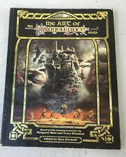 Art of the Dragon Lance Saga Book dungeons rpg dungeons