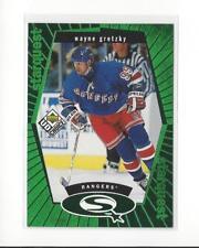 1998-99 UD Choice StarQuest Green #SQ1 Wayne Gretzky Rangers