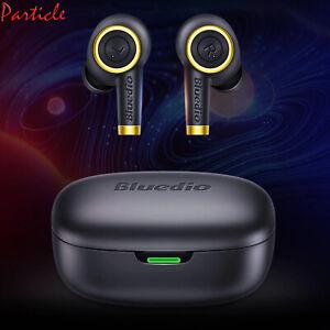 Bluedio Particle Wireless Earphones Bass TWS Bluetooth Sports Earbuds Waterproof