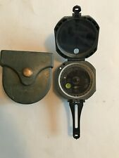 Brunton M2 Military Artillery Unmounted Magnetic Compass w/ hard case