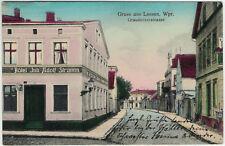 Lessen (Wpr.) - Graudenzerstrasse, Ansichtskarte gelaufen 1916 (Feldpost) -3339-
