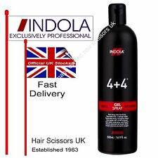 Indola 4+4 Gel Refil Extra Strong Hold Styling Hair Spray Professional 500ml