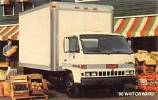 GMC Truck 1986 W4 Forward Car Vehicle Auto Vintage Postcard K70901