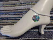 beads anklet beach stretchy handmade Trolls enamel charm ankle bracelet