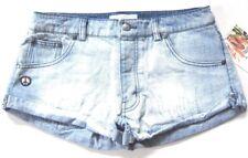 NWT $88 Spiritual Gangster Aloha Vibes Denim Shorts sz 31
