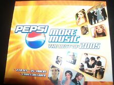 Pepsi More Music The Best Of 2005 - 2 CD Delta Goodrem Kylie Minogue Britney Spe