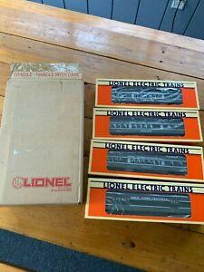 Lionel New York Central Set of 4 Passenger Cars 6091