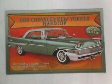 Danbury Mint Brochure 1958 Chrysler New Yorker Hardtop