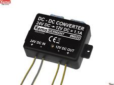 Spannungswandler 24 V/DC auf 13,8 V/DC max. 1,1 A M020 Kemo