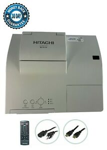 Hitachi CP-AW251N 3LCD Projector Ultra Short-Throw 2500 ANSI HDMI 1080p bundle