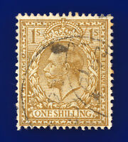 1924 SG429 1s Bistre-Brown N45(1) Fair Used clyg