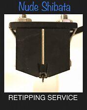 Cartridge Retipping: Denon DL-103 DL-103R Moving Coil Nude Shibata
