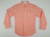 Vineyard Vines Classic Fit Tucker Shirt Mens Small Plaid Button Down Whale Shirt