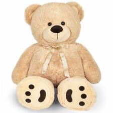 48'' 4 Feet Giant Teddy Bear Big Huge Stuffed Toy Valentine Gift for Kids Girls