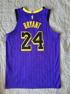 Nike Authentic LA Lakers Vaporknit Kobe Bryant Lore series jersey size 48 Large