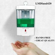 700ML Hands Free Automatic IR Sensor Touchless Soap Liquid Dispenser Wall Mount