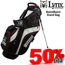 LYNX BOOM BOOM STAND BAG MENS GOLF BAG LIGHTWEIGHT  RRP £99 **NEW** LTD STOCK !