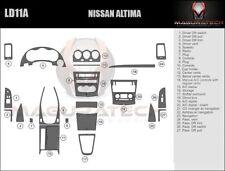 Fits Nissan Altima 2DR 2008-2009 NO Navigation Large Wood Dash Trim Kit