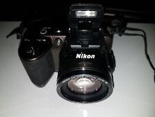 Nikon Coolpix L120 - 14.1 Megapixel  21X Optical Zoom - Digital Camera - Brown -