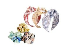 CHEVAUX Top Knot Chiffon Headbands & Chiffon Scrunchies