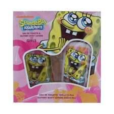 Spongebob Squarepants Per Ragazze Set Regalo - 100ml EDT + 240ml Glitter B/L-UK
