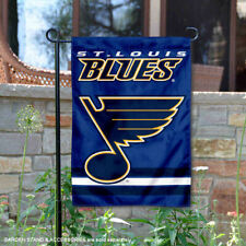 St. Louis Blues Garden Flag and Yard Banner