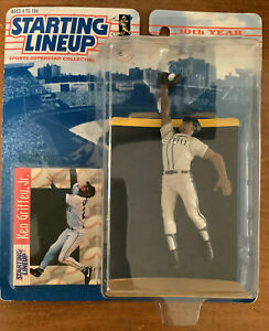 1997 KEN GRIFFEY JR. Starting Lineup Figure New In Box w/ Trading Card