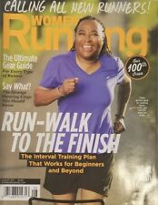 Womens Running Aug 2017 Run Walk To The Finish Training Plan FREE SHIPPING Mc23