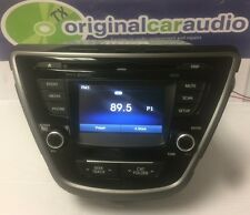 2014-2016 Hyundai Elantra AM FM MP3 Bluetooth Sat Radio Touch Screen AM9B0MDANGU