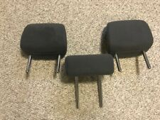 10 11 12 13 14 15 TOYOTA PRIUS 2ND ROW REAR HEAD REST SET (3) DARK GRAY CLOTH