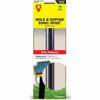 Victor Solar Powered Mole and Gopher Sonic Spike Rodents Pest Repeller Yard Lawn