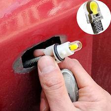 5Pcs T10 Silica Gel Car Reading Lamp Turn Bulb License Plate Red Light COB LED