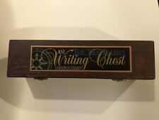 AM The Traveler's Writing Chest + Calligraphy Tools  Wood Box, Ink
