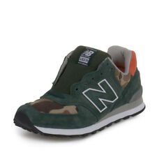 New Balance Ball and Buck Mens US574M1 Green/Orange-Camo US574M1 Size 7.5