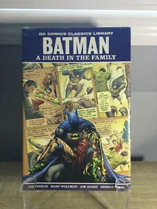 DC COMICS CLASSICS LIBRARY BATMAN: A DEATH IN THE FAMILY HC GRAPHIC NOVEL SEALED