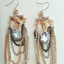 Unbranded Hook Oval Costume Earrings without Stone