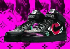 "Death NYC Ltd Ed 45x32cm LARGE Signed Graffiti Pop Art Print ""AF S u p Girl Pk"""