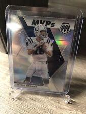 New listing 2020 Mosaic PEYTON MANNING #299 MVPs Silver Holo Prizm Indianapolis Colts
