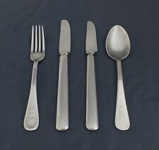 U.S.N. stainless Vintage flatware, 4 mixed lots, Shiny & bright! LotAc2