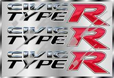 HONDA CIVIC TYPE R DECAL STICKER