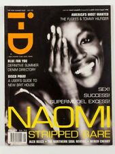 Naomi Campbell PAOLO ROVERSI The Fugees HELMUT LANG i-D magazine 1996 August vtg