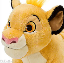 Authentic Disney The Lion King Simba Plush 28cm Toy Soft Doll