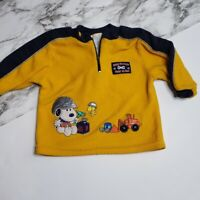Peanuts Baby One Piece Pajamas Snoopy /& Woodstock Sledding Microfleece 24 Months