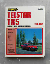 FORD TELSTAR TX5 GHIA 1983-87 - Auto Owners User Workshop Service Repair Manual