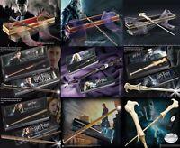 Harry Potter Noble collection Character Wand Illuminating Ollivanders Box UK New