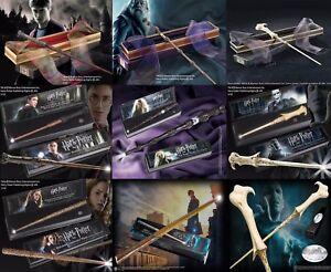Harry Potter Noble collection Character Wand Illuminating Ollivanders Box UK New