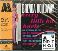BRENDA HOLLOWAY-EVERY LITTLE BIT HURTS-JAPAN CD Ltd/Ed B63