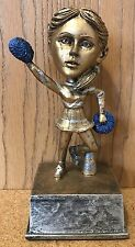 Cheerleading/Pom Pon Bobblehead Trophy - Free Engraving