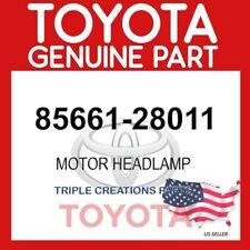 Genuine Toyota 85661-28011 MOTOR, HEADLAMP LEVELING, RH 8566128011 OEM